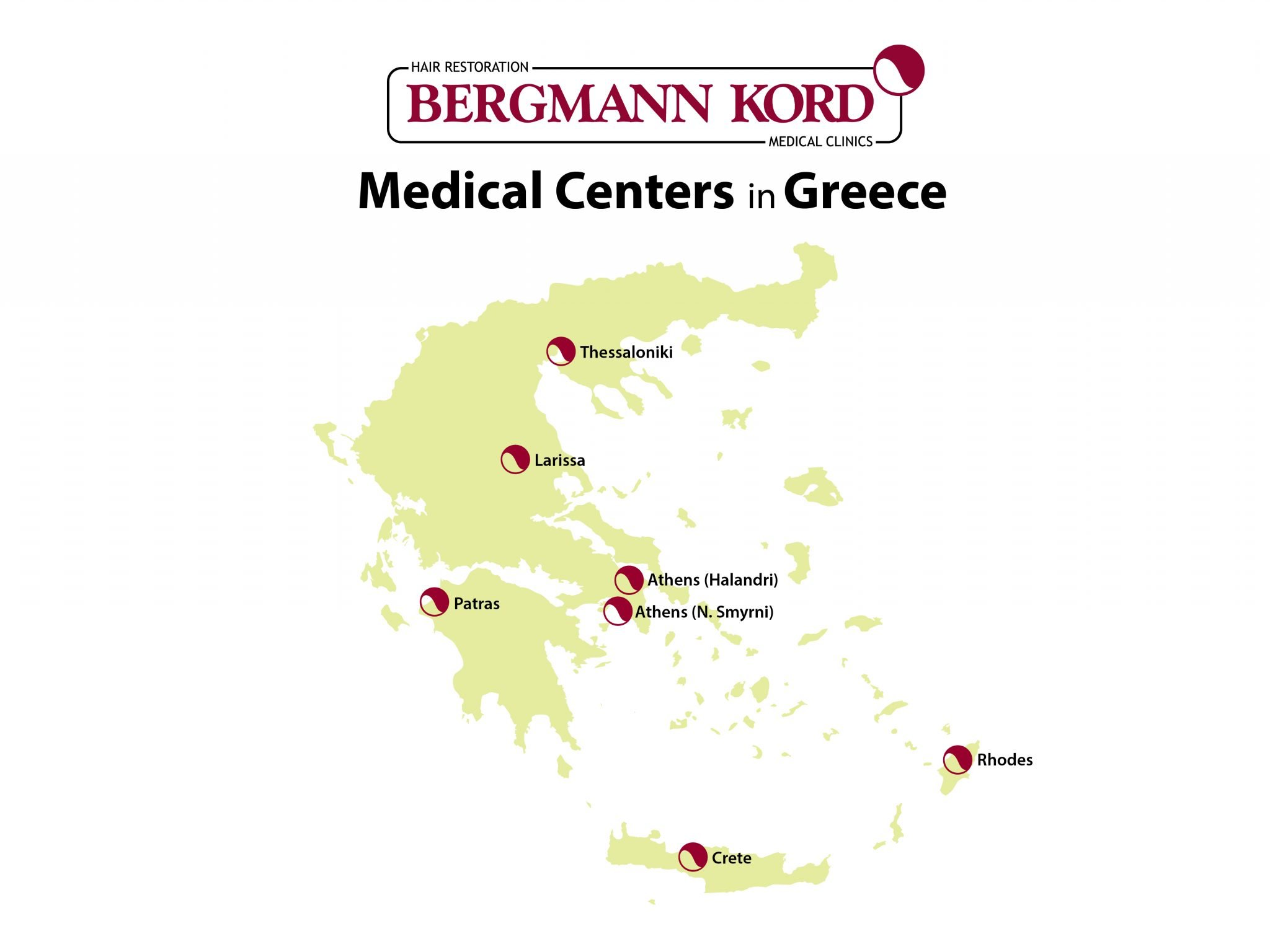 Locations - Bergmann Kord Hair Clinic